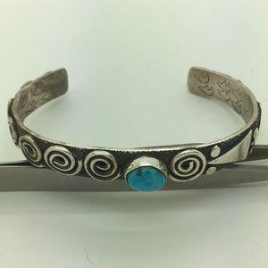 Jewelry - Native American Sterling Alex Sanches Bracelet